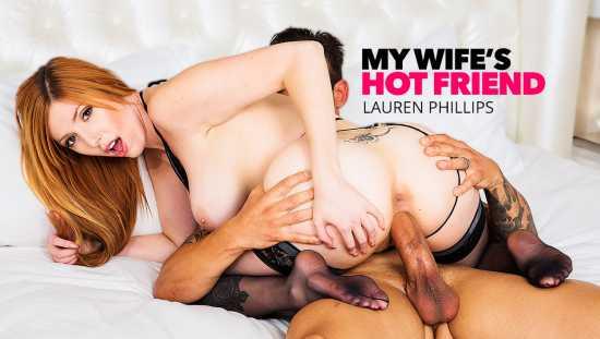 Lauren Phillips – MyWifesHotFriend – Lauren Phillips Milks A Big Cock