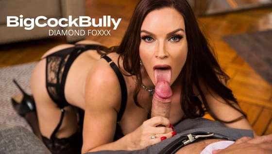 BigCockBully 25570 – Diamond Foxxx Fucks And Sucks Husbands Bully