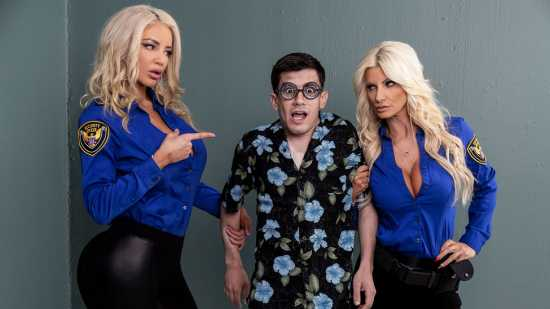 Brittany Andrews, Nicolette Shea - BrazzersExxtra - Fucking His Way Into The U S A