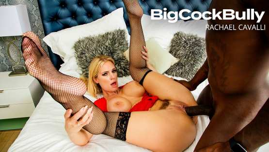 BigCockBully – Rachael Cavalli Takes A Big Black Cock