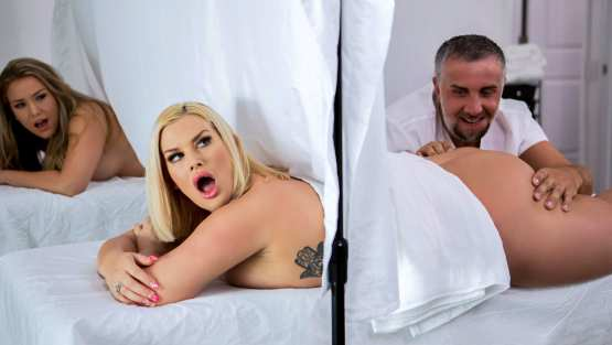 Julie Cash - DirtyMasseur - Behind The Curtain