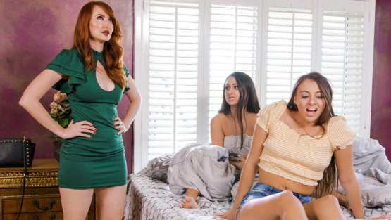 Kendra James, Eliza Ibarra, Gia Derza – GirlsWay – No Bosy Over, OK?