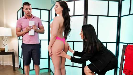 Whitney Wright, Reagan Foxx – NuruMassage – Trying Out The New Masseuse