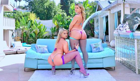 All Anal – Lisey Sweet, Candice Dare – Lisey And Candice Are Bubble Butt Bombshells