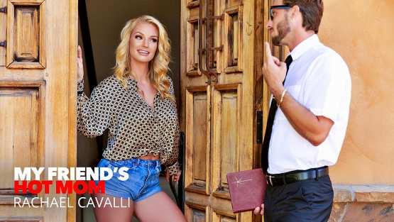 My Friends Hot Mom – Rachael Cavalli fucks a virgin friend of her son