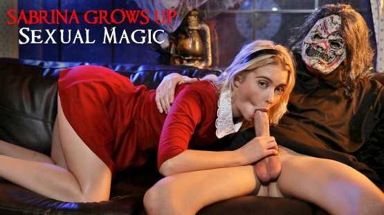 Nubiles ET – Chloe Cherry – Sabrina Grows Up Sexual Magic