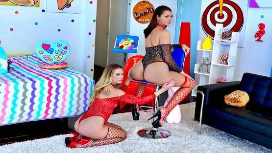 All Anal – Adira Allure, Bella Rolland – Sluts On Parade With Bella And Adira