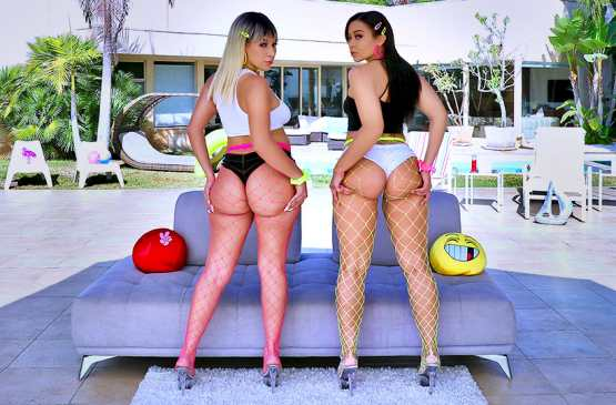 All Anal – Adriana Maya, Valentina Jewels – Big Booty Love With Valentina And Adriana