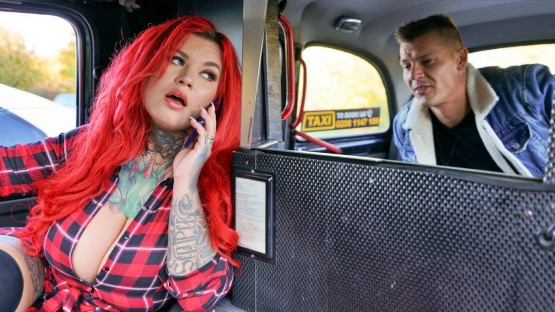 Female Fake Taxi – Sabien DeMonia – Busty New Driver Gets Her Thrills
