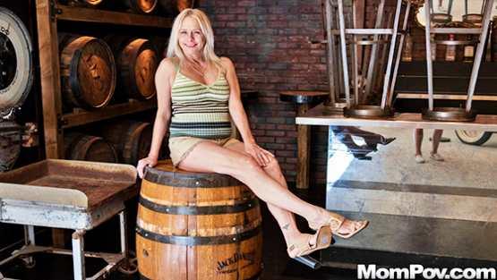 MomPOV E562 – Baley – Hot blonde MILF all natural