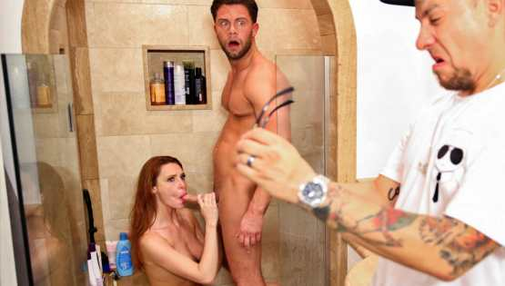 Nuru Massage – Lacy Lennon – Are You TRYING To Get Caught?!