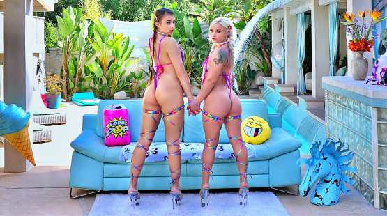 Swallowed – Bella Jane, Gia Derza – Gia And Bella Are Hungry For Dick
