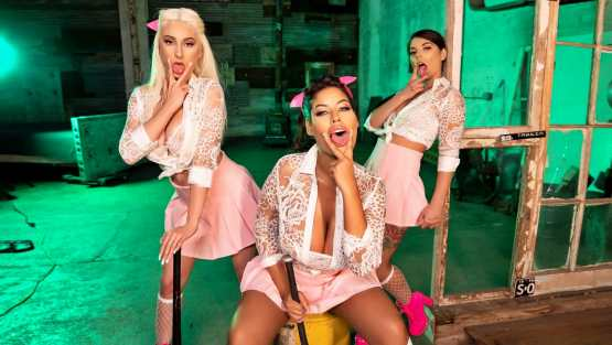 When Girls Play – Bridgette B, Gina Valentina, Skylar Vox – Girl Gang Part 4