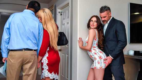 Sneaky Sex – Aubree Valentine – Open House For A Slut