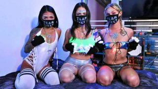 BFFs – Paisley Paige, Melody Foxx, Winter Bell – Quarantine And Rave With Me