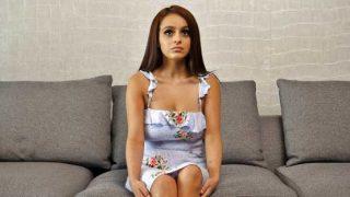 Net Video Girls – Nola – Busty Latina VERY Shy