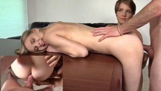 Backroom Casting Couch – Dakota, Harlow – 3way 19 Years Old