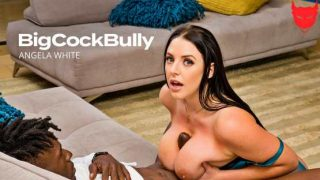 BigCockBully – Angela White Strips Sucks And Fucks For Her Husbands Promotion 25709