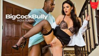 BigCockBully – India Summer fucks a big black cock 25894