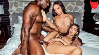Blacked – Emily Willis, Alexis Tae – Peach