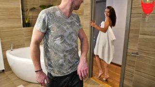 IKnowThatGirl – Katrin Tequila – Horny Brunette Teases Boyfriend