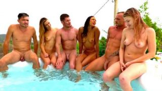 JacquieEtMichelTV – Orgies in Ibiza (2): Lucy's surprise!