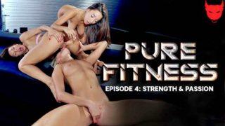 RoccoSiffredi – Pure Fitness 4 – Strength And Passion – Kitana Lure, Angelika Grays, Liya Silver