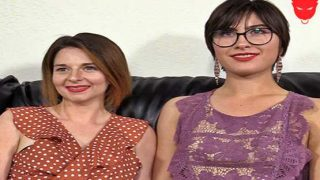 BackroomCastingCouch – Angeline and Sophie 3way