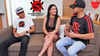 SexMex – Teresa Ferrer – Double Penetration For Aunt – Doble Penetracion a la Tia