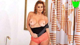 50PlusMILFS – Juliett Russo – Latina MILFs tits, ass and pussy show