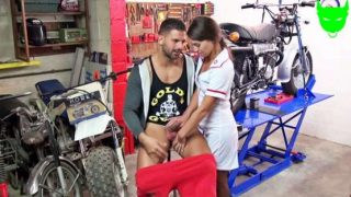 JacquieEtMichelTV – Tiffany enjoys playing the naughty nurse