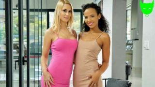 LezCuties – Romy Indy, Sharon White – Step-Sisters & Secret Lovers