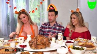 AmateurBoxxx – Casca Akashova, Kali Roses – Another Thanksgiving Cuckold