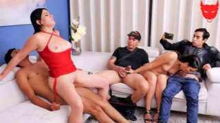 SexMex – Angie Miller, Teresa Ferrer – Immoral Family – Part 4 – Mommy Pays The Debt